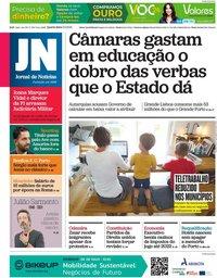 capa Jornal de Notícias de 5 maio 2021