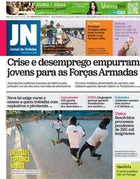 capa Jornal de Notícias de 10 maio 2021