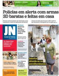 capa Jornal de Notícias de 17 maio 2021
