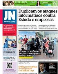 capa Jornal de Notícias de 18 maio 2021
