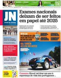 capa Jornal de Notícias de 20 maio 2021