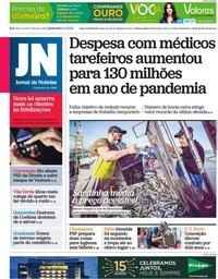 capa Jornal de Notícias de 27 maio 2021