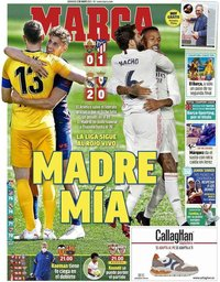 capa Jornal Marca de 2 maio 2021