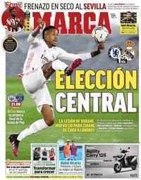 capa Jornal Marca de 4 maio 2021