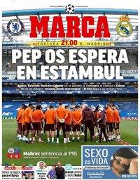 capa Jornal Marca de 5 maio 2021