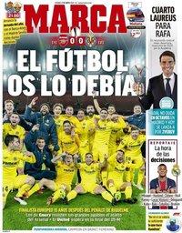 capa Jornal Marca de 7 maio 2021