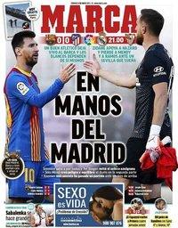 capa Jornal Marca de 9 maio 2021