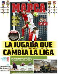 capa Jornal Marca de 10 maio 2021