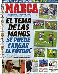 capa Jornal Marca de 11 maio 2021