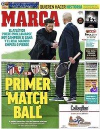 capa Jornal Marca de 16 maio 2021