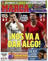 capa Jornal Marca de 17 maio 2021