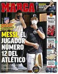 capa Jornal Marca de 19 maio 2021