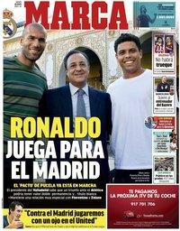capa Jornal Marca de 20 maio 2021