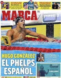 capa Jornal Marca de 21 maio 2021