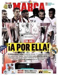 capa Jornal Marca de 22 maio 2021