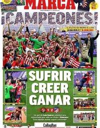 capa Jornal Marca de 23 maio 2021