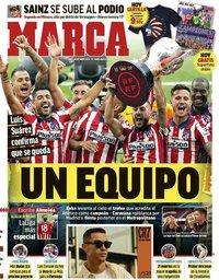 capa Jornal Marca de 24 maio 2021