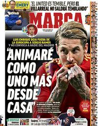 capa Jornal Marca de 25 maio 2021