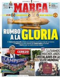 capa Jornal Marca de 26 maio 2021