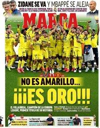 capa Jornal Marca de 27 maio 2021