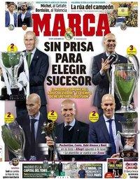 capa Jornal Marca de 28 maio 2021