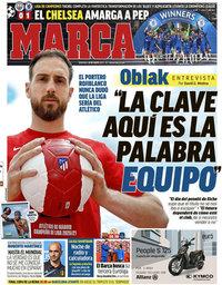 capa Jornal Marca de 30 maio 2021