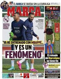 capa Jornal Marca de 31 maio 2021