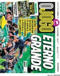 capa Jornal O Jogo de 12 maio 2021