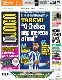 capa Jornal O Jogo de 29 maio 2021
