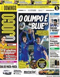 capa Jornal O Jogo de 30 maio 2021