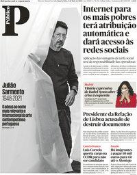 capa Público de 5 maio 2021