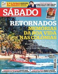 capa Revista Sábado de 20 maio 2021