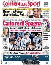 capa Corriere dello Sport de 2 junho 2021