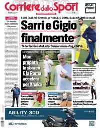 capa Corriere dello Sport de 9 junho 2021