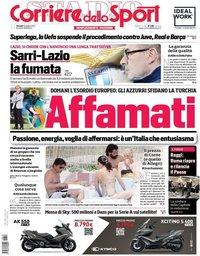 capa Corriere dello Sport de 10 junho 2021