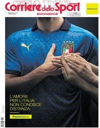 capa Corriere dello Sport de 11 junho 2021