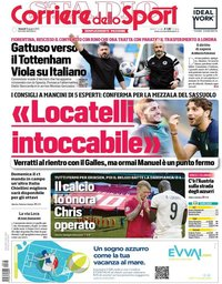 capa Corriere dello Sport de 18 junho 2021