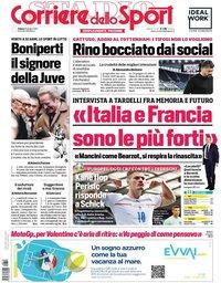 capa Corriere dello Sport de 19 junho 2021