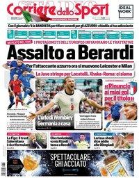 capa Corriere dello Sport de 30 junho 2021