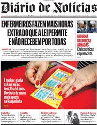 capa Diário de Notícias de 2 junho 2021