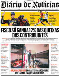 capa Diário de Notícias de 7 junho 2021