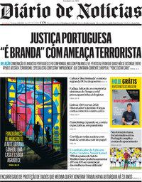 capa Diário de Notícias de 20 junho 2021