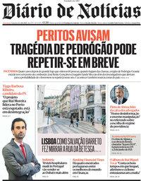 capa Diário de Notícias de 21 junho 2021