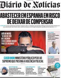 capa Diário de Notícias de 27 junho 2021