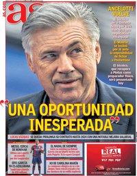 capa Jornal As de 2 junho 2021