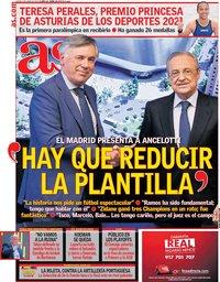capa Jornal As de 3 junho 2021