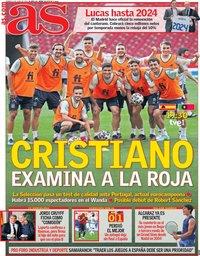 capa Jornal As de 4 junho 2021