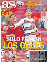 capa Jornal As de 5 junho 2021