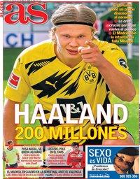 capa Jornal As de 6 junho 2021
