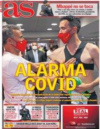 capa Jornal As de 7 junho 2021